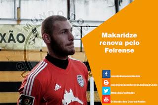 Makaridze renova pelo Feirense