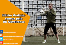 Hélder Godinho renova pela UD Oliveirense