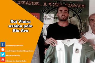 Rui Vieira assina pelo Rio Ave