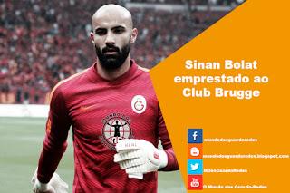 Sinan Bolat emprestado ao Club Brugge