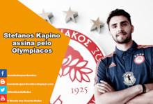 Stefanos Kapino assina pelo Olympiacos