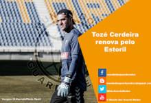 Tozé Cerdeira renova pelo Estoril