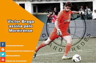 Victor Braga assina pelo Moreirense