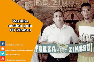 Vozinha assina pelo FC Zimbru