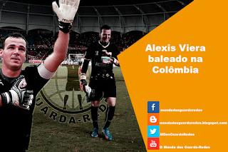 Alexis Viera foi baleado duas vezes e encontra-se fora de perigo