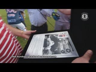 Marcos de Oliveira homenageado pelos 300 jogos pelo Paraná