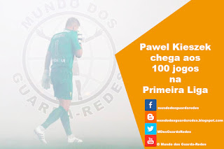 Pawel Kieszek completa 100 jogos na Primeira Liga – SL Benfica 4-0 Estoril