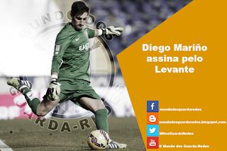 Diego Mariño assina pelo Levante