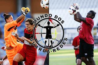 Elsa Santos e Jamila Martins Marreiros não sabem o que é sofrer golos esta temporada – CF Benfica