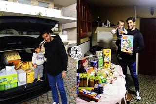 Pedro Trigueira ofereceu 113kg ao Banco Alimentar Contra a Fome