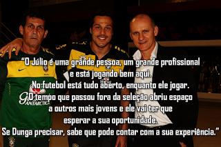 Taffarel abre portas da selecção Brasileira a Júlio César