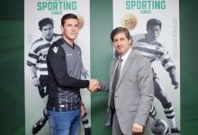 Marcelo Boeck renova pelo Sporting CP