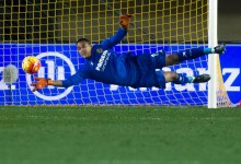 Alphonse Aréola não sofre há 500 minutos no Villarreal CF