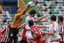 Filipe Soares defende dois penaltis no UD Leiria 2-2 SC Praiense