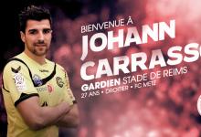 Johann Carrasso assina pelo Stade de Reims