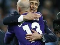 Willy Caballero teve o respeito de Manuel Pellegrini, que preferia perder do que faltar à palavra