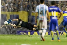 Agustín Orión defendeu sétimo penalti em cinco anos de Boca Juniors
