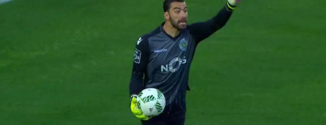 Rui Patrício e Raúl Gudiño com grandes defesas no Sporting CP 2-0 CF União da Madeira