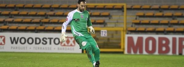Vagner Silva não sofre há mais de 300 minutos no Mouscron