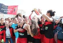 Jamila Martins Marreiros campeã pelo CF Benfica com seis golos sofridos