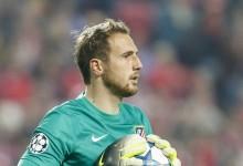Jan Oblak vence prémio Zamora e iguala melhor registo de sempre