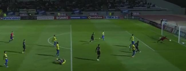 Raúl Gudiño protagoniza grande defesa no CF União da Madeira 3-1 Académica