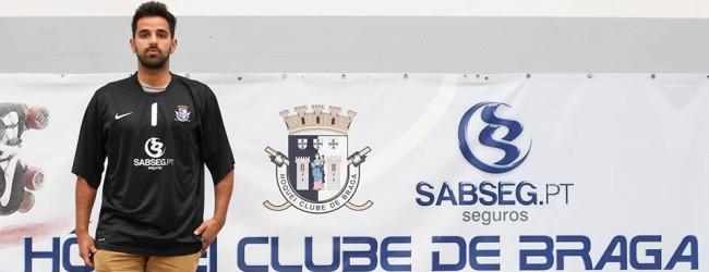 Francisco Veludo assina pelo HC Braga