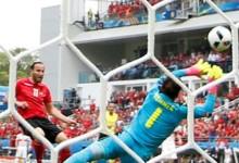 Yann Sommer v. Etrit Berisha – Estatísticas – Suíça 1-0 Albânia