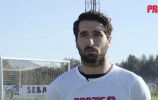 """Marco Rocha: """"Comecei a jogar à frente e depois fui para a baliza"""""""