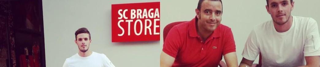 Curro Harillo assina pelo SC Braga