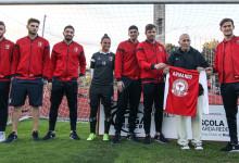 Armando Pereira da Silva homenageado pelo SC Braga