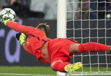 Ter Stegen entra na lista de guarda-redes com mais penaltis defendidos na Champions League