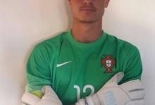 Daniel Figueira, aos 18 anos, convocado pelo Vitória SC