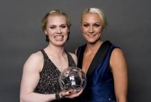 Hedvig Lindahl vence Bola de Diamante, Guarda-Redes e Mãe do ano na Suécia