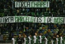 Adeptos do Sporting CP lembram Marcelo Boeck no minuto de silêncio