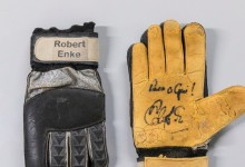 Luvas de Robert Enke doadas ao Património Cultural do SL Benfica