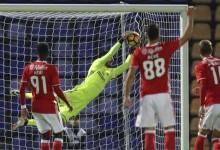 André Ferreira em bom plano no FC Porto B 1-1 SL Benfica B