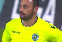 Beto Pimparel em bom plano no CF Os Belenenses 0-1 Sporting CP