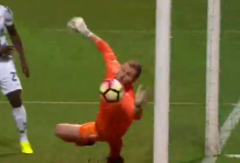 Giorgi Makaridze protagoniza 3 belas defesas no Moreirense FC 1-0 FC Porto