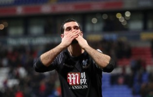 Julián Speroni tornou-se no guarda-redes com mais jogos pelo Crystal Palace