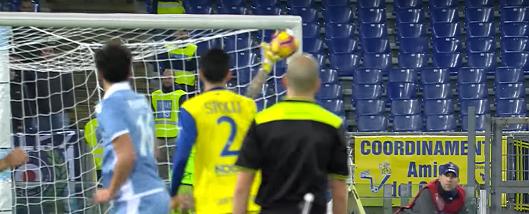 Stefano Sorrentino brilha em várias defesas – SS Lazio 0-1 Chievo