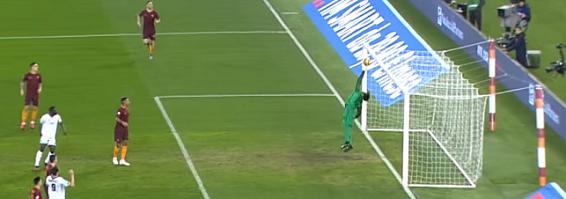 Alisson Becker coloca equipa na meia-final com duas belas defesas – AS Roma 2-1 Cesena