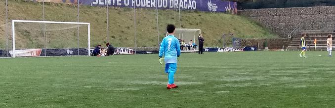 João Araújo e André Adegas: dupla de 10 anos só sofreu um golo pelo Valadares