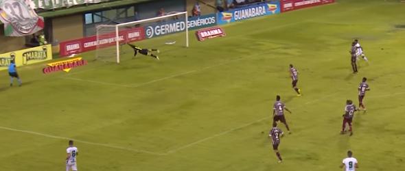 Júlio César Jacobi em destaque no Fluminense FC 3-0 Portuguesa
