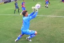 Marcelo Boeck assina bela defesa no Fortaleza 4-0 Maranguape