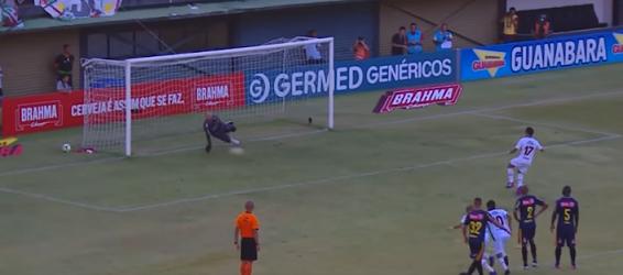 Márcio Arantes sofre, defende penalti e ainda se destaca – Bangu 0-4 Fluminense FC
