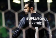 Rui Patrício igualou Azevedo com 408 jogos pelo Sporting CP