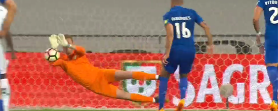 Giorgi Makaridze defende terceiro penalti esta temporada – CF Os Belenenses 1-1 Moreirense FC