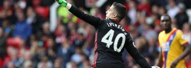Joel Pereira estreou-se na Premier League com defesa decisiva – Manchester United FC 2-0 Crystal Palace