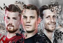 Manuel Neuer, Timo Horn e Oliver Baumann lutam pelo prémio de melhor guarda-redes da Bundesliga 2016/2017
